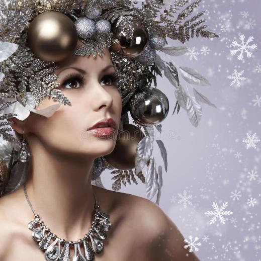 christmas-woman-new-year-decorated-hairstyle-snow-queen-p-portrait-fashion-girl-silver-gold-balls-over-35169059