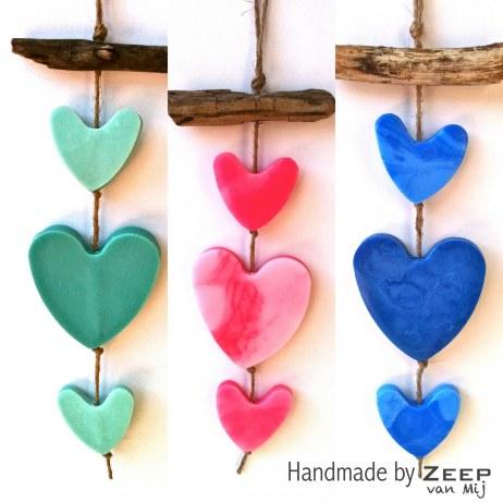 alle hartjes groen, roze, blauw, Zeep van Mij, zeepvanmij.jpg